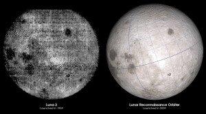 Первая фотографии обратной стороны Луны