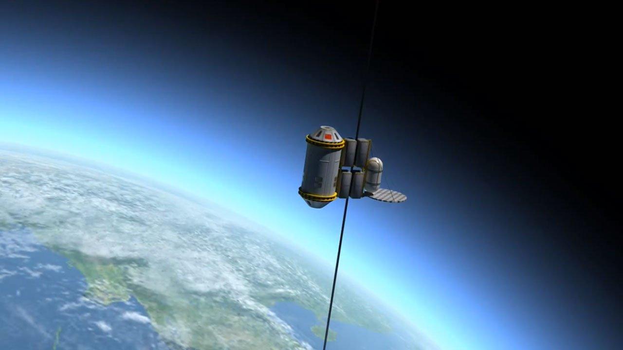 Кабина космического лифта